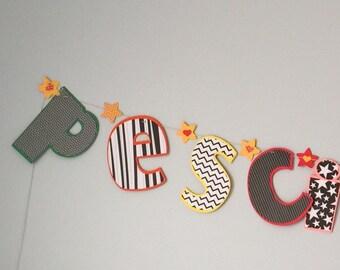 Large custom letters 3.00 each