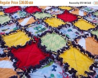 SALE SuperDog Rag Baby Blanket