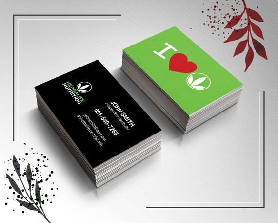 I Love Herbalife Herbalife Business Card Herbalife Love by