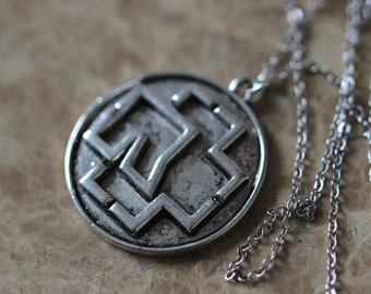 Rammstein Pendant Necklace Antique Gift For Him C199N_S
