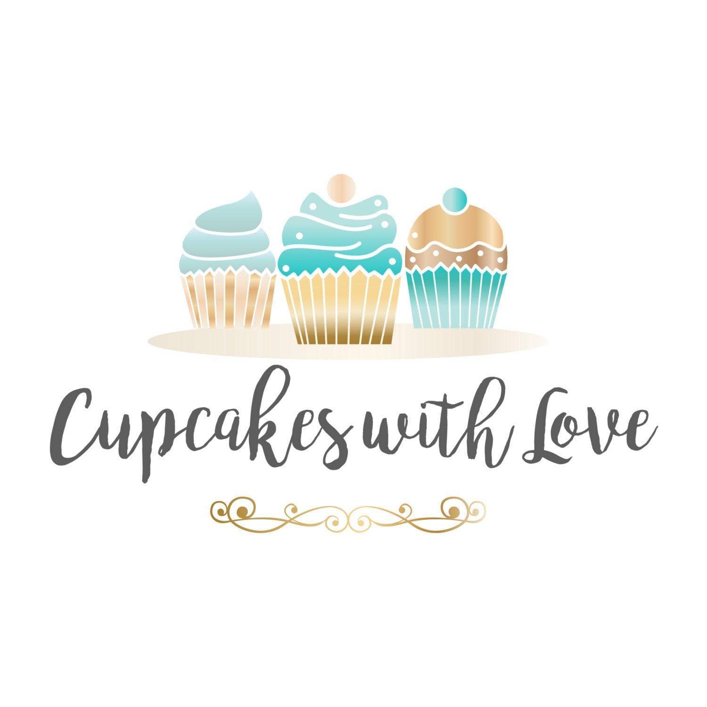 cake bakery logo design sweets logo design cupcakes