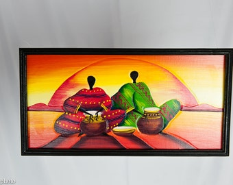 Picture of a sunset in party