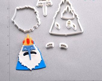 Adventure Time  Fondant Cutter  adventure time,adventure time pin,adventure time pipe,adventure time marceline,adventure time stickers,