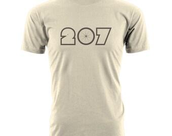 Maine Shirt - Maine 207 Mountain Bike T-shirt.