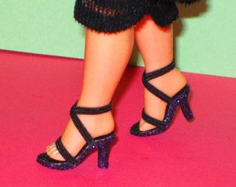 Cissette CLASSIC BLACK Shoes for Cissette 10 inch Madame Alexander, Tonner Tiny Kitty, Miss Revlon 10 inch