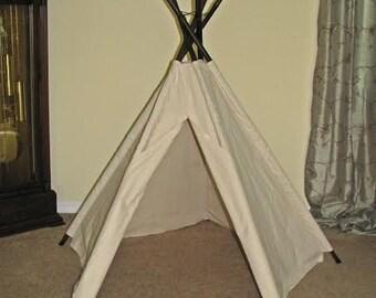 5' Traditional 5-Pole Tepee Tent