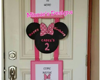 Minnie Mouse Birthday Banner, Minnie Mouse birthday, Minnie mouse birthday, Minnie mouse banner, Minnie Mouse birthday