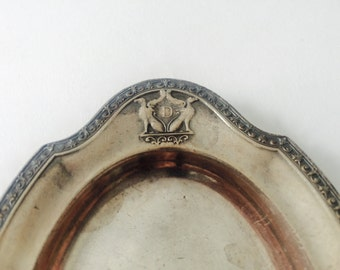 Historic Deshler Hotel Columbus Silverplate Mint Dishes by Reed and Barton, Last One!
