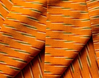 Yellow Ikat Fabric