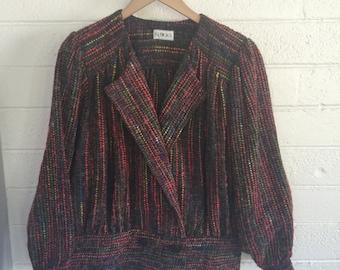 Vintage Women's Tweed Jacket Coat