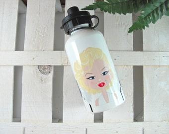 Water bottle and bottle Marilyn