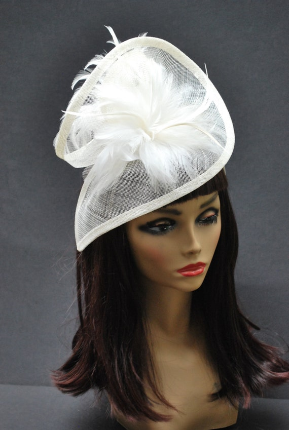 British wedding hats for women ivory fascinator womens tea for Housedesigner com plans