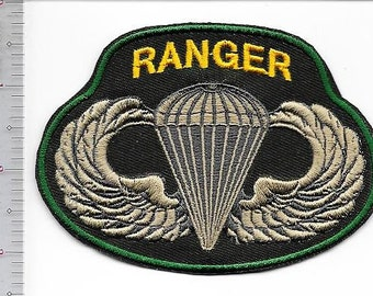 Ranger US Army 75th Infatry Regiment ABN Parachuist Wings & Ranger Special Operations