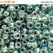On Sale NOW 25%OFF TOHO 3/0 Round Beads - Gold-Lined Aqua [Tr-03-990]