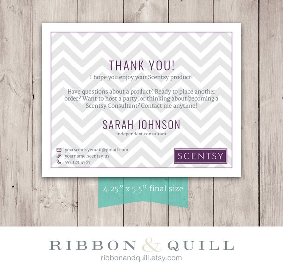 Ribbonandquill scentsy business bundle business card thank you ribbonandquill scentsy business bundle business card thank you label custom pdf printable template consultant vista print vistaprint bc reheart Choice Image