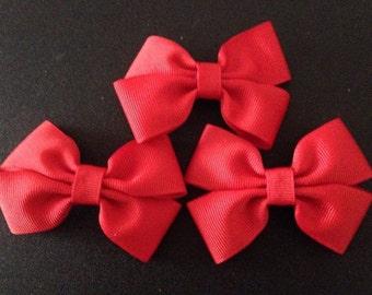 Double bow clip