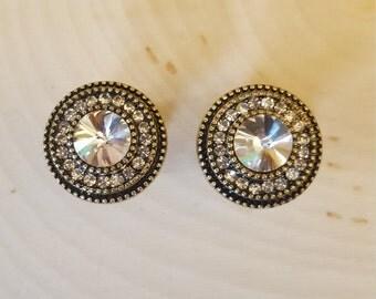 Silver Circle and Diamond Gauges  00g, 7/16, 1/2, 9/16, 5/8