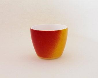 Small Yellow-Orange Vase