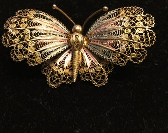 Vintage Sterling Butterfly