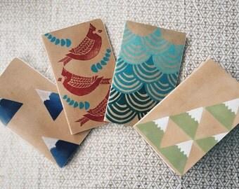 Hand-stamped Journals