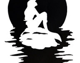 Gallery For gt The Little Mermaid Flounder Silhouette