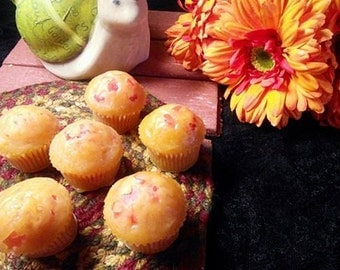 Orange Cranberry Muffin Candle Melts 4 oz