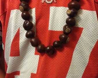 Endless Buckeyes Ohio State Mega-Necklace