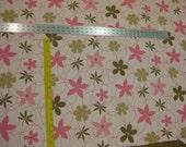 Praline Floral fabric...