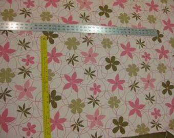 Praline Floral fabric