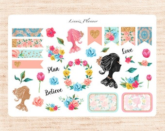 Flower girl gifts etsy for Stickers murs deco