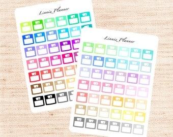Scale Functional Basics (matte planner stickers, Erin Condren, Happy Planner)