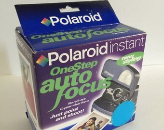 Vintage Polaroid Instant One Step Auto Focus Camera