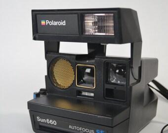 Polaroid Sun 660 Autofocus SE Camera