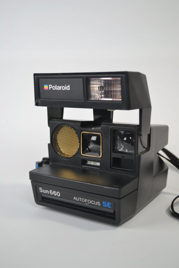 polaroid sun 660 autofocus se camera from karenamesdesigns on etsy studio. Black Bedroom Furniture Sets. Home Design Ideas