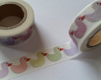 Pastel Duck  Washi Tape