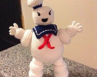 Ghostbusters StayPuft Marshmallow Man pattern