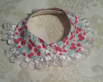 Cat collar, Dog collar, Peter Pan Collar, pet collar, Peter Pan Pet Collar