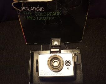 Polaroid ColorPack Land camera