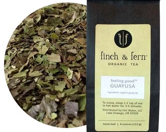 Organic GUAYUSA Tea | Loose Leaf | Small (1.5 oz)