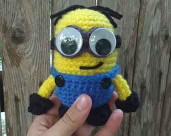 Minion - FINISHED Crochet Figure