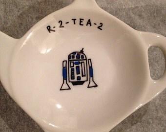 Star Wars themed R2-tea-2 tea bag tidy