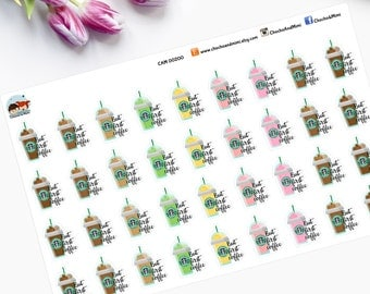 But First Coffee, Planner Stickers - CAM00200