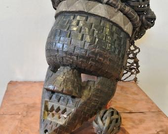 Congolese Copper mask - Salampasu