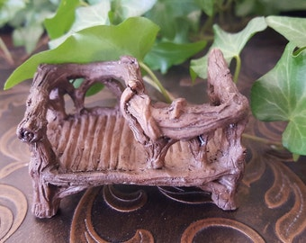 Miniature Twig Courting Bench