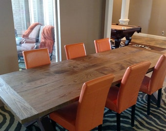 Solid Oak Farm House Table