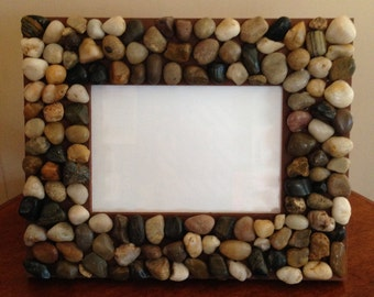 Rustic Stone Picture Frame