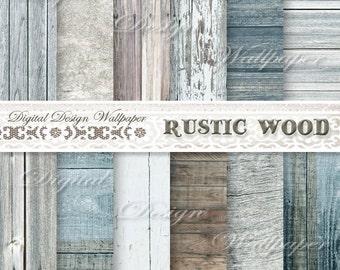COMMERCIAL USE,Wood Digital Paper,Rustic Wood Digital Paper,Rustic Wood Texture,Distressed Wood,Digital Wood Background,White Wood
