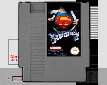 "SPECIAL ORDER! ""Superman 2"" Unreleased Nintendo NES Action Platformer!"