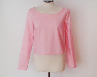 Handmade pink blouse