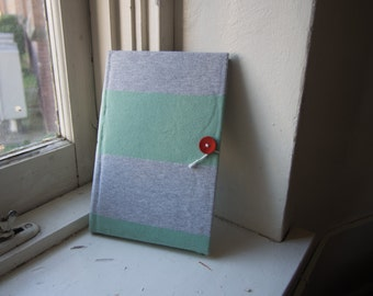 Blank Journal/Sketchbook made with recycled materials.